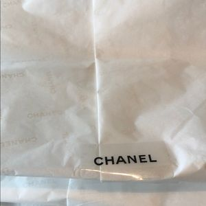 CHANEL Bags - Chanel box with tissue, ribbon,flower appliqué.